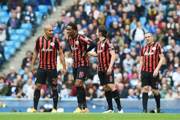 QPR relegated